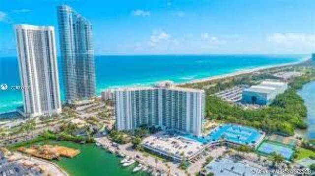 100 Bayview Drive #423, Sunny Isles Beach, FL 33160 (MLS #A10938001) :: The Pearl Realty Group