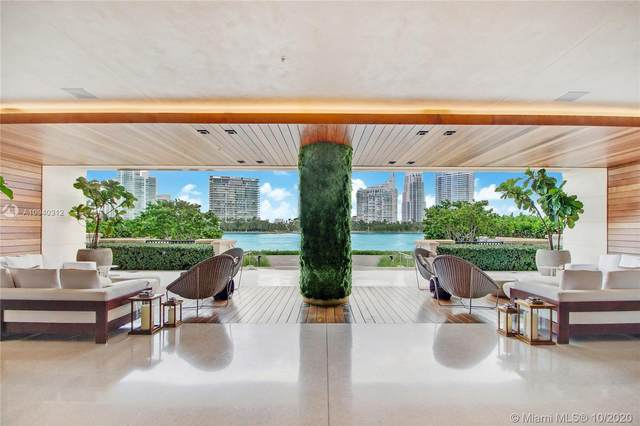 7085 Fisher Island Dr #7085, Miami Beach, FL 33109 (MLS #A10940312) :: The Rose Harris Group