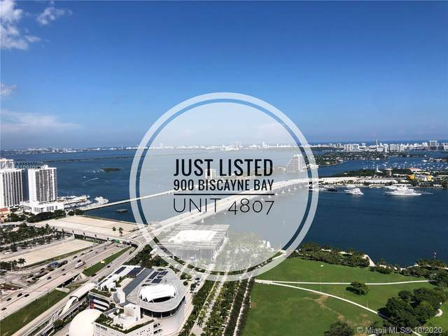 900 Biscayne Blvd #4807, Miami, FL 33132 (MLS #A10940429) :: Carole Smith Real Estate Team