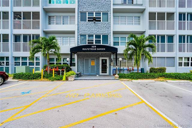 329 SE 3rd St 502P, Hallandale Beach, FL 33009 (MLS #A10943639) :: ONE Sotheby's International Realty