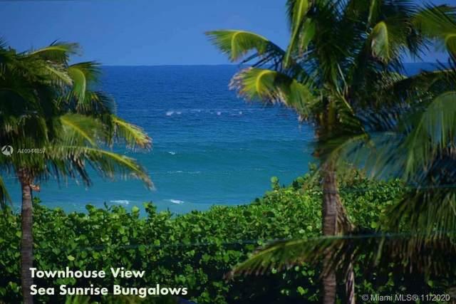 751 Ocean Dr 1-11, Juno Beach, FL 33408 (#A10944857) :: Posh Properties
