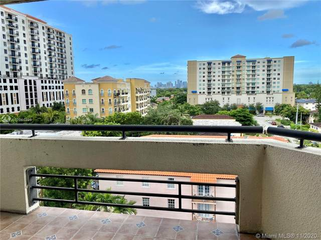 911 E Ponce De Leon Blvd #801, Coral Gables, FL 33134 (MLS #A10944898) :: Ray De Leon with One Sotheby's International Realty