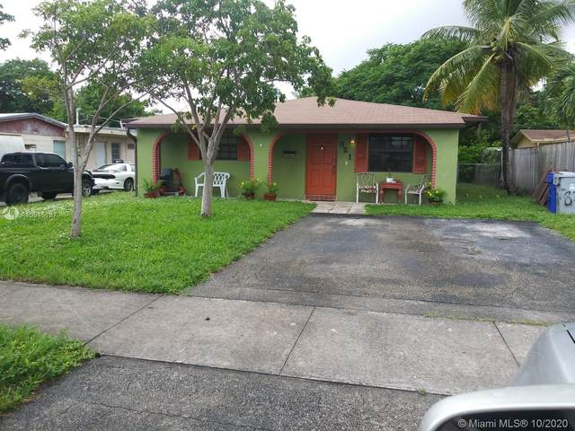821 NE 11th Ave, Pompano Beach, FL 33060 (#A10945187) :: Posh Properties