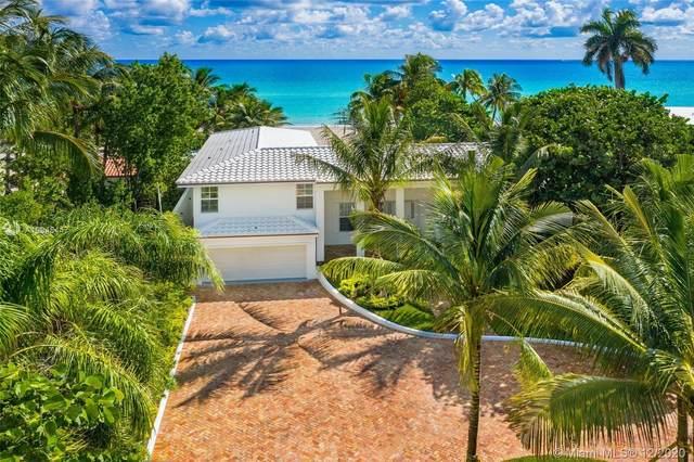 399 Ocean Blvd, Golden Beach, FL 33160 (MLS #A10945447) :: Laurie Finkelstein Reader Team