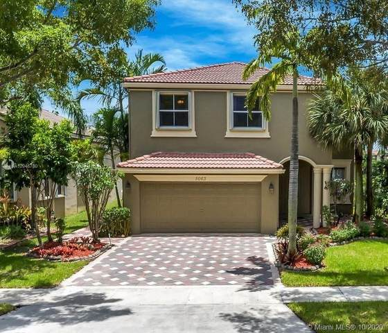5063 SW 163rd Ave, Miramar, FL 33027 (MLS #A10945780) :: Search Broward Real Estate Team at RE/MAX Unique Realty