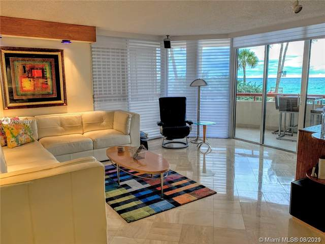 15645 E Collins Ave #206, Sunny Isles Beach, FL 33160 (MLS #A10946877) :: Compass FL LLC