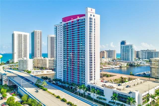 2602 E Hallandale Beach Blvd R910, Hallandale Beach, FL 33009 (MLS #A10947086) :: Ray De Leon with One Sotheby's International Realty