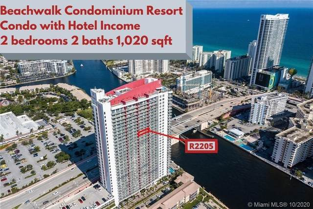 2602 E Hallandale Beach Blvd R2205, Hallandale Beach, FL 33009 (MLS #A10947513) :: Prestige Realty Group