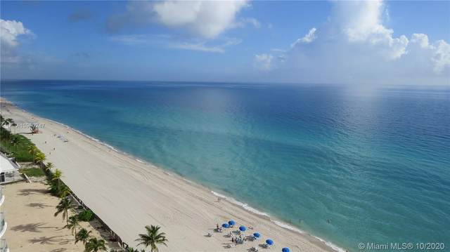 18671 Collins Ave #1602, Sunny Isles Beach, FL 33160 (MLS #A10950247) :: The Howland Group