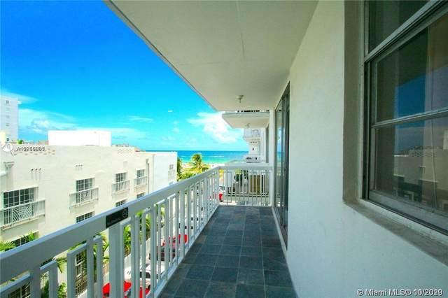 401 Ocean Dr #525, Miami Beach, FL 33139 (MLS #A10950681) :: ONE Sotheby's International Realty
