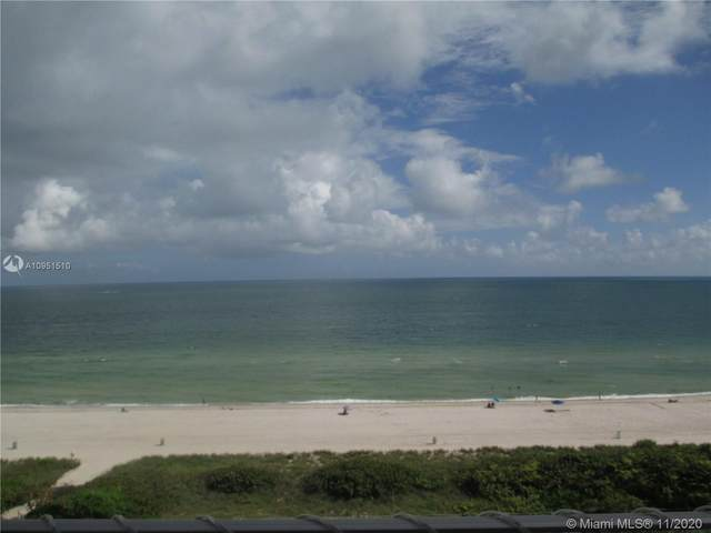 9225 Collins Ave #901, Surfside, FL 33154 (MLS #A10951510) :: Team Citron