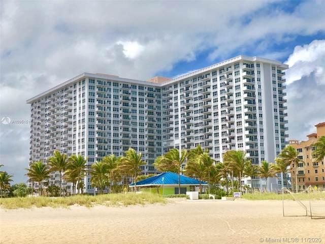 405 N Ocean Blvd #311, Pompano Beach, FL 33062 (MLS #A10951518) :: Ray De Leon with One Sotheby's International Realty