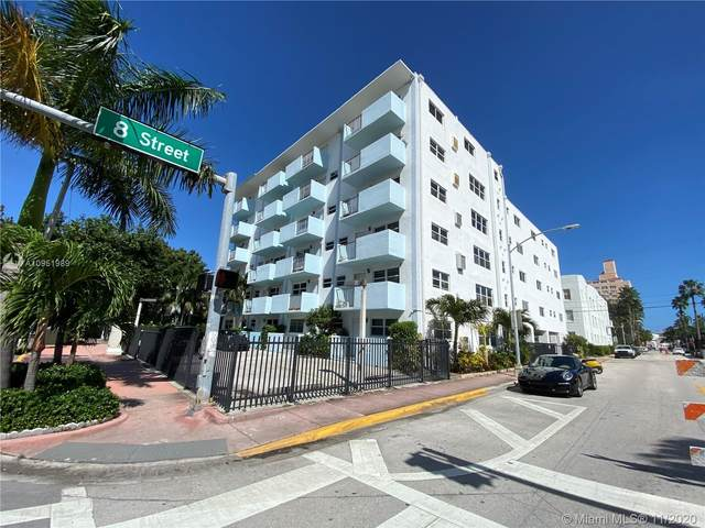 801 Meridian Ave 4C, Miami Beach, FL 33139 (MLS #A10951989) :: Patty Accorto Team