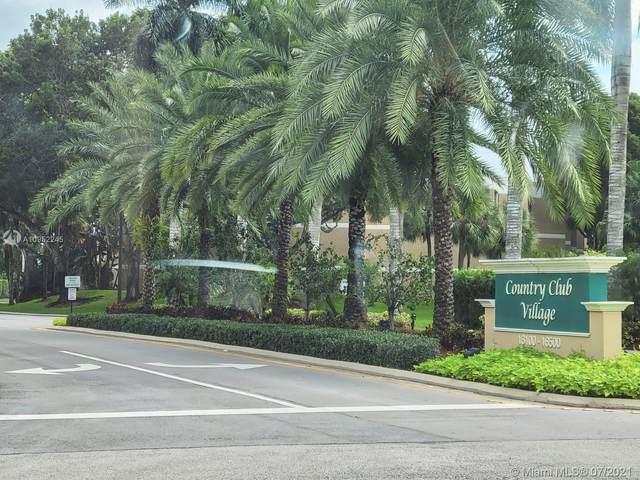 16300 Golf Club Rd #314, Weston, FL 33326 (#A10952245) :: Dalton Wade