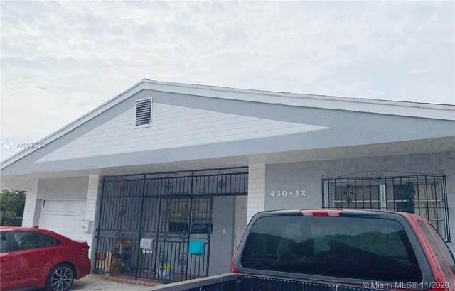 430 NW 32nd Pl, Miami, FL 33125 (#A10955758) :: Posh Properties