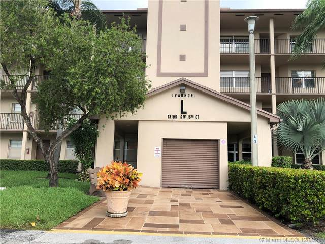 13105 SW 16th Court 109L, Pembroke Pines, FL 33027 (MLS #A10957143) :: Podium Realty Group Inc