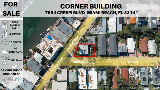 7994 Crespi Blvd, Miami Beach, FL 33141 (MLS #A10957993) :: Ray De Leon with One Sotheby's International Realty
