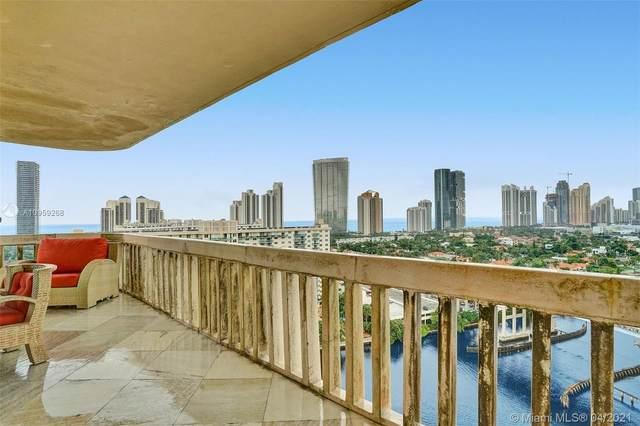 19355 E Turnberry Way 18J, Aventura, FL 33180 (MLS #A10959268) :: Castelli Real Estate Services