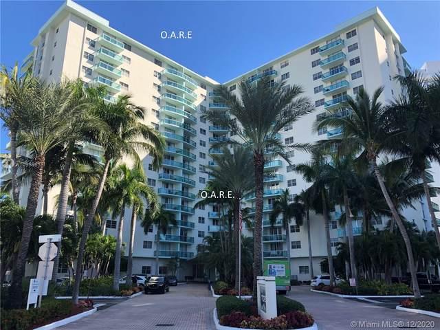 3901 S Ocean Dr 1U, Hollywood, FL 33019 (MLS #A10959635) :: Patty Accorto Team