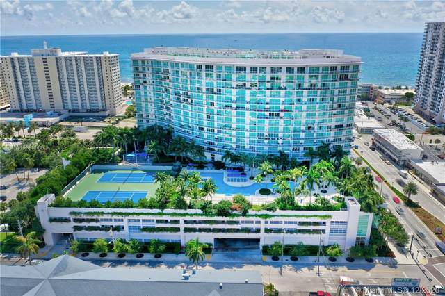 1 N Ocean Blvd #1106, Pompano Beach, FL 33062 (MLS #A10960506) :: Patty Accorto Team
