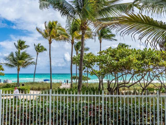 10275 Collins Ave #221, Bal Harbour, FL 33154 (MLS #A10963359) :: Patty Accorto Team