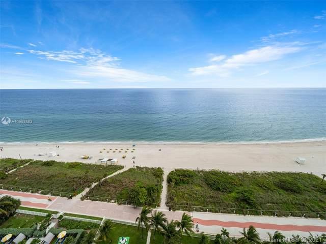 6061 Collins Ave 18F, Miami Beach, FL 33140 (MLS #A10963883) :: The Riley Smith Group