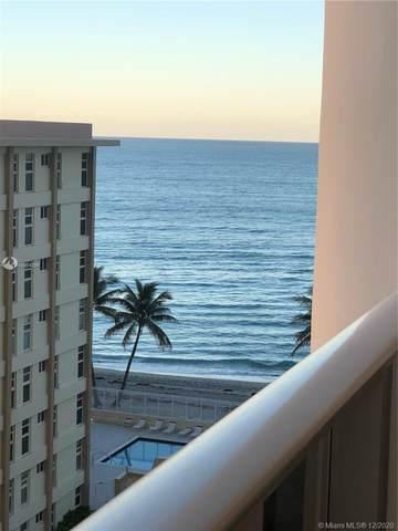 3140 S Ocean Dr #809, Hallandale Beach, FL 33009 (MLS #A10964399) :: Search Broward Real Estate Team