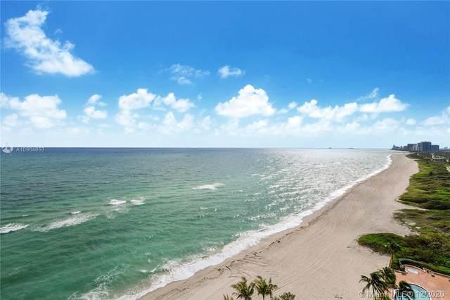 15701 Collins Ave #1102, Sunny Isles Beach, FL 33160 (MLS #A10964653) :: Patty Accorto Team