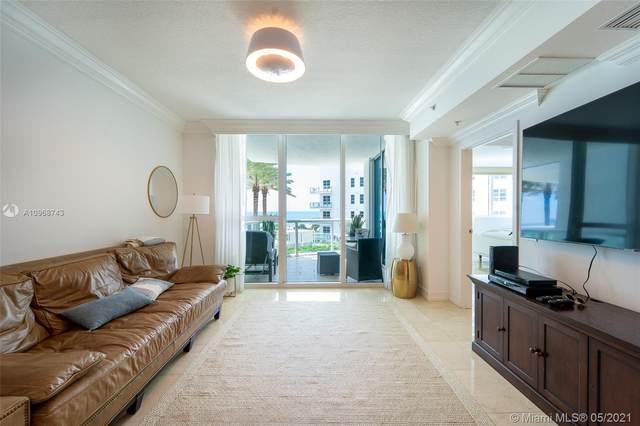 3801 Collins Ave #502, Miami Beach, FL 33140 (#A10968743) :: Posh Properties