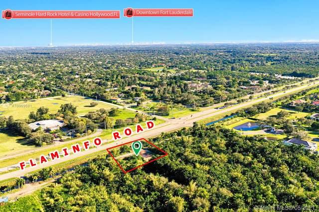S Flamingo Rd, Davie, FL 33325 (MLS #A10969681) :: GK Realty Group LLC
