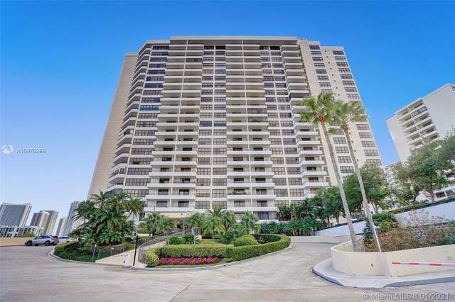 2500 Parkview Dr #1612, Hallandale Beach, FL 33009 (MLS #A10970288) :: Patty Accorto Team