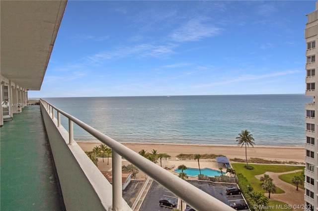 4050 N Ocean Dr #1103, Lauderdale By The Sea, FL 33308 (MLS #A10970457) :: Prestige Realty Group