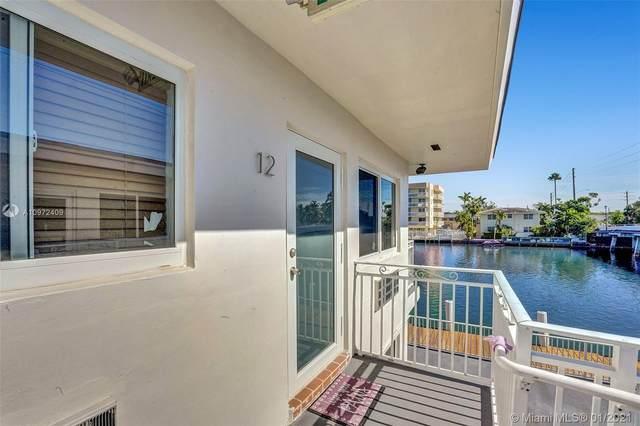 8509 Crespi Blvd #12, Miami Beach, FL 33141 (MLS #A10972409) :: Green Realty Properties