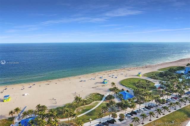 111 N Pompano Beach Blvd #1104, Pompano Beach, FL 33062 (MLS #A10973035) :: Patty Accorto Team