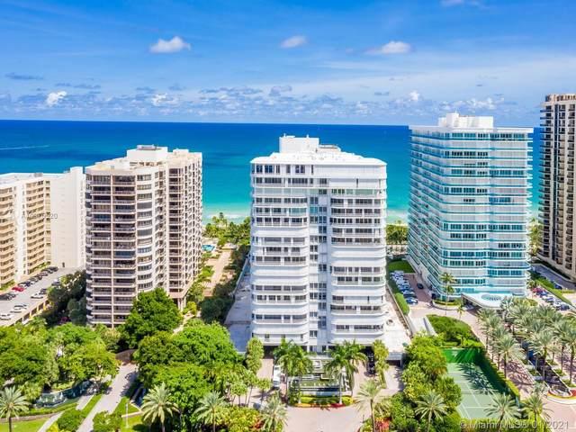 10155 Collins Ave #402, Bal Harbour, FL 33154 (MLS #A10975520) :: Dalton Wade Real Estate Group
