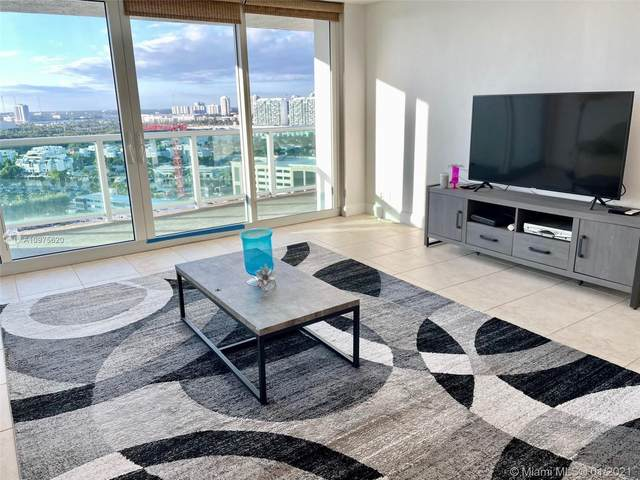 100 Bayview Dr #2104, Sunny Isles Beach, FL 33160 (MLS #A10975620) :: KBiscayne Realty
