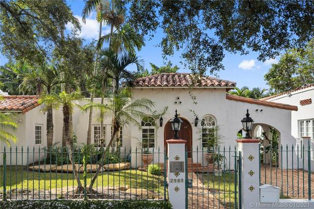 2508 Madrid St, Coral Gables, FL 33134 (MLS #A10975957) :: The Teri Arbogast Team at Keller Williams Partners SW