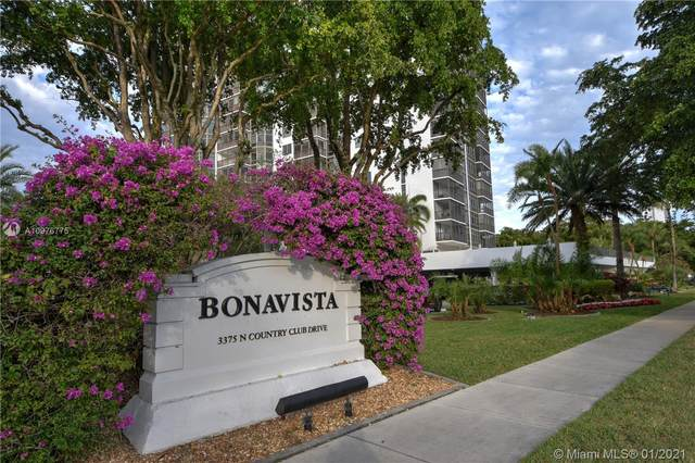 3375 N Country Club Dr #506, Aventura, FL 33180 (MLS #A10976775) :: KBiscayne Realty