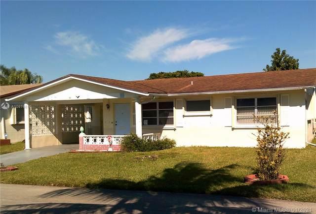 4907 NW 52nd Ct, Tamarac, FL 33319 (MLS #A10976816) :: Carole Smith Real Estate Team