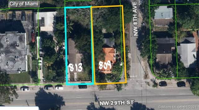 813 NW 29th St, Miami, FL 33127 (#A10976925) :: Posh Properties