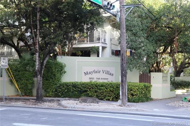 3021 Oak Ave #7, Miami, FL 33133 (MLS #A10977664) :: Green Realty Properties