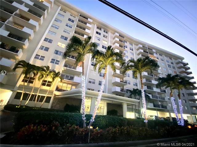 401 Golden Isles Dr #413, Hallandale Beach, FL 33009 (#A10978788) :: Posh Properties
