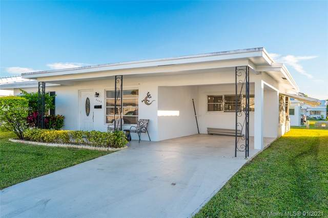 8602 NW 59th Ct, Tamarac, FL 33321 (MLS #A10979552) :: Carole Smith Real Estate Team