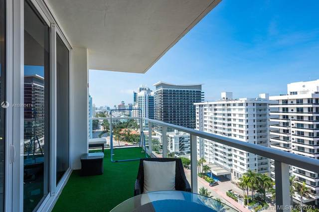 5750 Collins Ave 16-G-H, Miami Beach, FL 33140 (MLS #A10980474) :: The Teri Arbogast Team at Keller Williams Partners SW