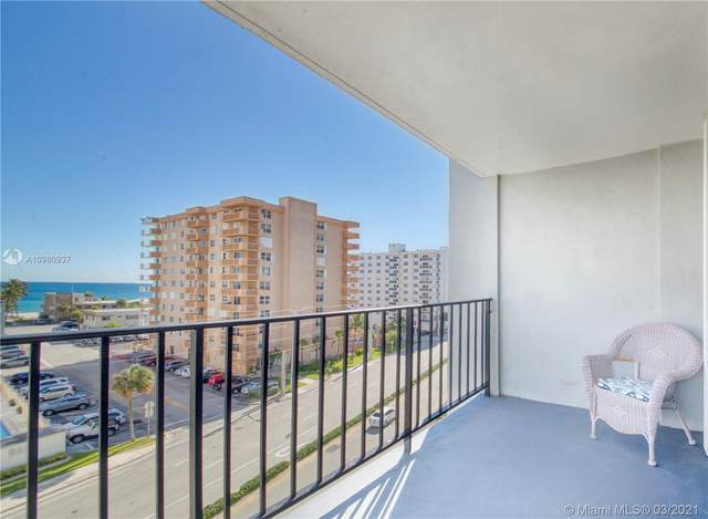 1400 S Ocean Dr #601, Hollywood, FL 33019 (MLS #A10980937) :: KBiscayne Realty