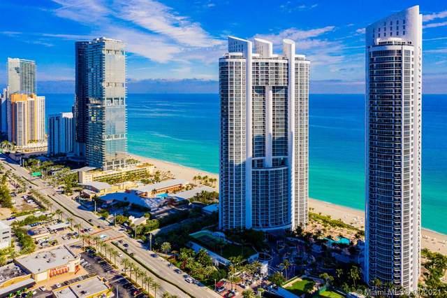 18201 Collins Ave #1405, Sunny Isles Beach, FL 33160 (MLS #A10981193) :: Berkshire Hathaway HomeServices EWM Realty