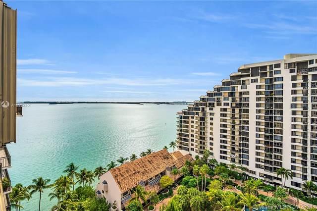 540 Brickell Key Dr #1717, Miami, FL 33131 (MLS #A10982801) :: Albert Garcia Team