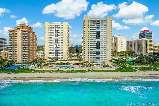 1880 S Ocean Dr #307, Hallandale Beach, FL 33009 (MLS #A10982973) :: The Teri Arbogast Team at Keller Williams Partners SW