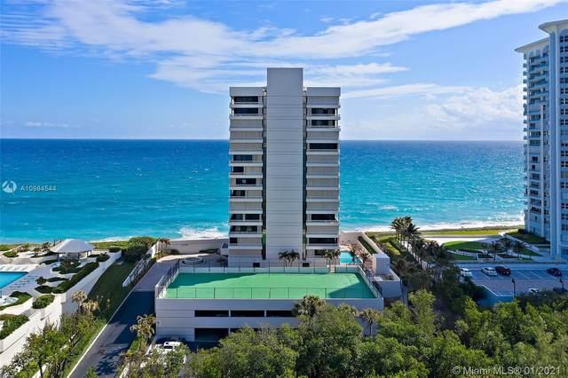 5250 N Ocean Dr 16N, Singer Island, FL 33404 (MLS #A10984544) :: Carole Smith Real Estate Team