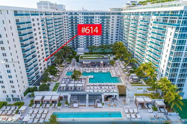 2301 Collins Ave #614, Miami Beach, FL 33139 (MLS #A10985957) :: Search Broward Real Estate Team
